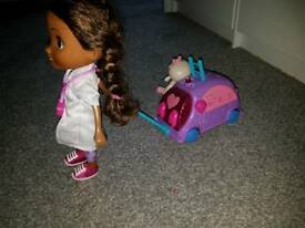 Walking doc mcstuffins