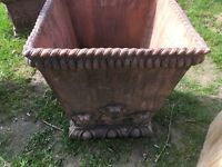 LARGE GARDEN TERRA COTTA PLANTER