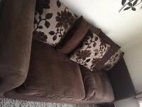 Now sold **DFS sofa also available a matching footstool