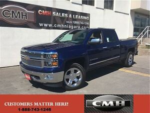 2014 Chevrolet Silverado 1500 LTZ 4X4 LEATH CS/HS NAV-READY 6.5'
