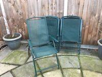 Free- garden chairs x6