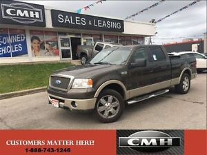 2008 Ford F-150 LARIAT 4X4 LEATH ROOF CAM *CERTIFIED*