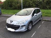 PEUGEOT 308sw 1.6hdi LOW MILAGE 2009/09