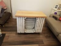 Kitchen Small Island - storage and counter space