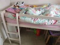 Childs Midi Bed with Slide