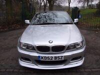 BMW 3 Series 2.0 318Ci 2dr£2,999 NEW CLR MOT+ ELECTRIC SUN ROOF 2003 (52 reg), Convertible