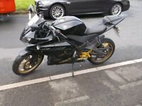 2012 yamaha yzfr125 new tyres and mot
