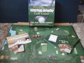 (The Really Nasty Golf Game) board game. Upstarts games 2007. Excellent condition & complete.