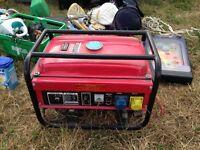 Generator 110/220 volt new