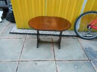 Small Vintage Folding Table - - £5 - - -