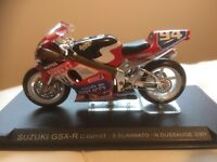 Collection of 44 model motorcycles with information catalogue