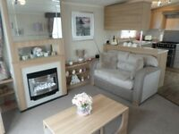2014 Swift Bordeaux static caravan on private sale at Percy Wood Country Park in Northumberland