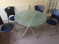 Large tempered glass dinning table !!!