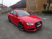 Audi A4 TDi Quattro S Line Black Edition Saloon Auto Diesel 0% FINANCE AVAILABLE