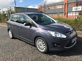 ***FORD GRAND C-MAX 1.6 TDCI TITANIUM ONLY 1 OWNER+FULL FORD HISTORY+DRIVES LIKE NEW***£4495!