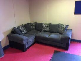 Phoenix left hand double arm corner group sofa (EX DISPLAY)
