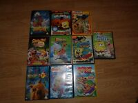 childrens dvd bundle x 3