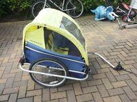 Child's Burley 2 Seat Bike Trailer