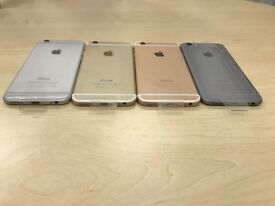 * GRADE A * Boxed Apple iPhone 6 16GB, 64GB, 128GB Unlocked Various Colours Mobile Phone + Warranty