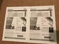 Chris Rock two GROUND FLOOR tickets glasgow