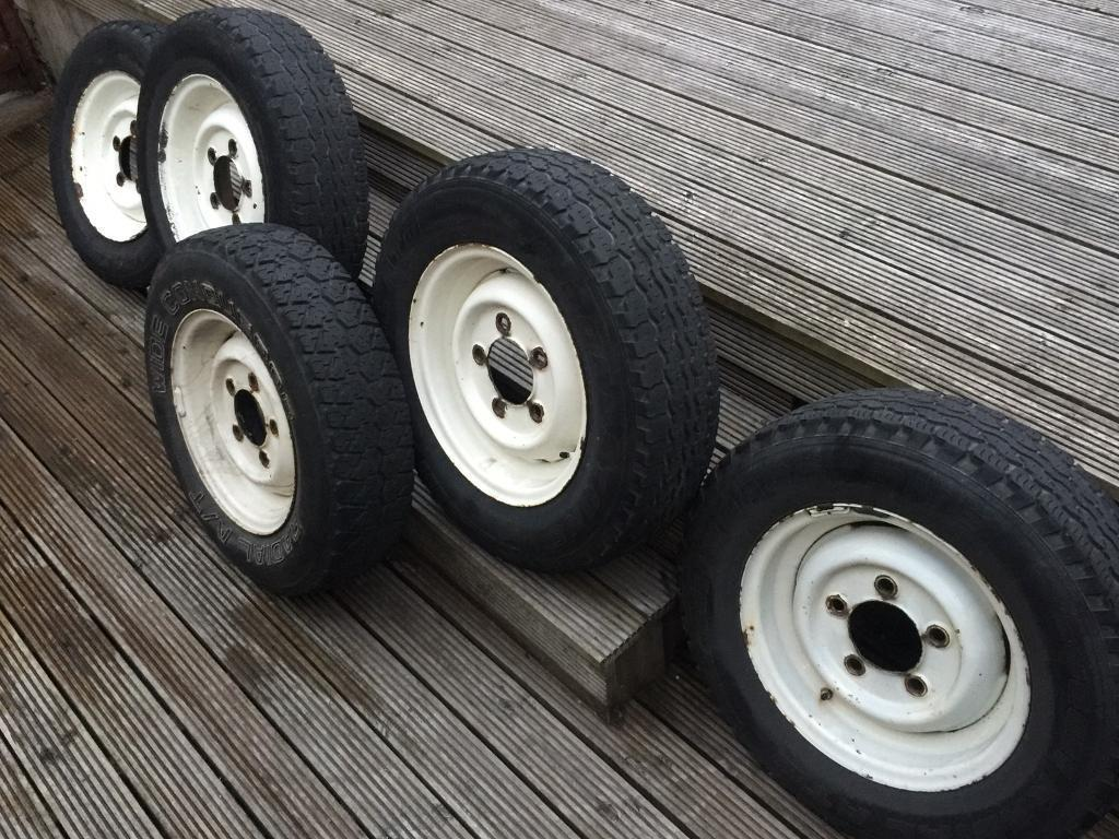 Land Rover Series Wheels And Tyres