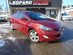 2012 Hyundai Elantra GLS,Sunroof,Heated Seats,Bluetooth*No Accid