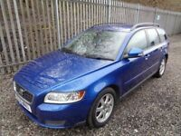 VOLVO V50 S DRIVE 1.6 2010 5 DOOR DIESEL ESTATE BLUE 133,000 MILE MOT 28/04/19 FULL SERVICE HISTORY