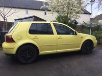 VW Golf Mk4 2.3 V5 Yellow ** Rare Ltd Edition