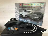 James Bond 007 Micro Scalextric Aston Martin DB5 DBS Racing Set With Extra Track