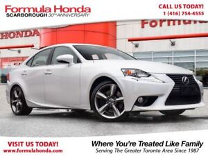 2014 Lexus IS 350 $100 PETROCAN CARD NEW YEAR'S SPECIAL!