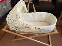 Baby Moses Basket in goog condition!