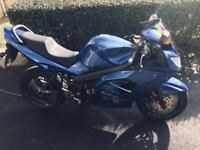 Triumph sprint 1050 blue good condition 30k mls