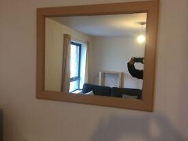 Light Wood Mirror - last day 3rd Feb