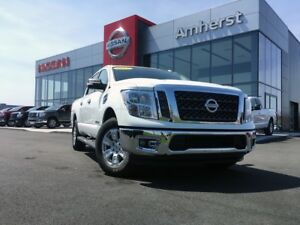 2017 Nissan Titan SV CREW CAB WITH TRAILER HITCH
