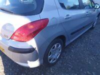 Peugeot, 308, Hatchback, 2009, Manual, 1560 (cc), 5 doors