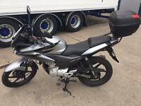 Learner Legal Honda CBF 125cc Motorbike