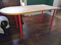 FOR SALE: Solid Oak Desk