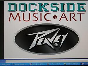 Peavey amps, PA equipment & more at Dockside Music