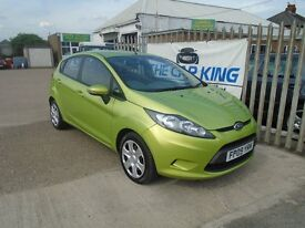 FORD FIESTA 1.4 TDCi Style + 5dr (green) 2009