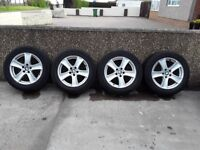 Bmw X5 wheels with winter tyres