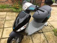 Piaggio ZIP Scooter 50cc 1 owner,1year MOT.Hardly used,ideal commuting or motorhome.
