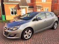 2013 VAUXHALL ASTRA 1.6 SRI, MOT 12 MONTHS, SERVICE HISTORY, LOW MILEAGE