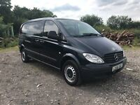 2006 Mercedes Benz VITO 109 cdi twin sliding doors READY TO WORK NO VAT