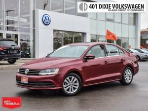 2017 Volkswagen Jetta Wolfsburg Edition 1.4T 6sp at w/Tip LOW KM