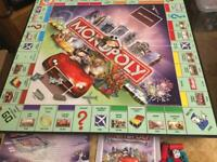Special Edition Monopoly Game.