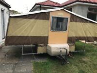 Dandy trailer tent for sale. Manufactured 1980's