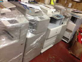 Canon iRC3380i, less than 100 k copies excellent condition with 62k black copies and 31k colour.