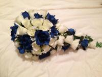 Navyblue/cream bouquet