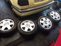 5x100 16 inch wheels and tyres