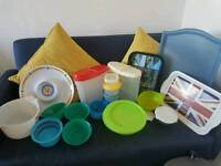 mixture of bric and brac items